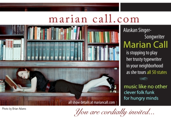 Marian Call touring all 50 states!