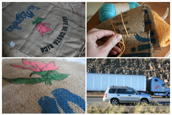 Photos by Marian and also childish stitching